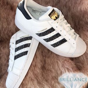 Swarovski® Adidas® Superstar Shoes For WomenGirls Boutique